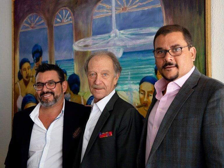 Pablo Velasco, Max Gutmann und Jorge Tapies