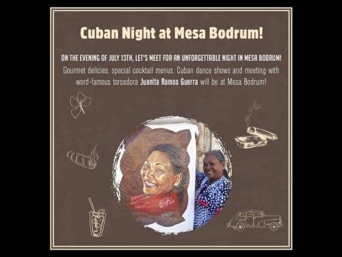 Mesa Bodrum Event
