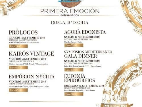 Primera Emotion Event Italy