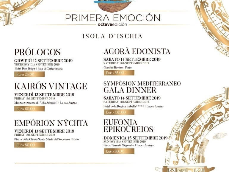 Primera Emotion Event Italy