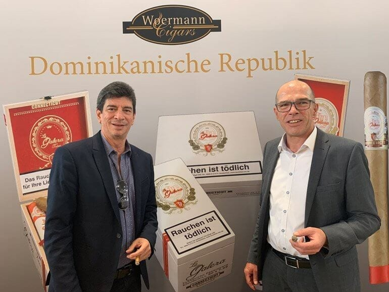 Jochy Blanco und Peter Wörmann auf der InterTabac 2019