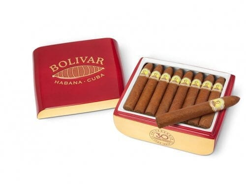 Bolívar Belicosos Finos im Porzellan-Jar
