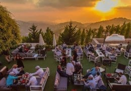 Sunset Ash event Beirut