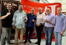 AJ FERNANDEZ TO DISTRIBUTE VIVA LA VIDA CIGARS