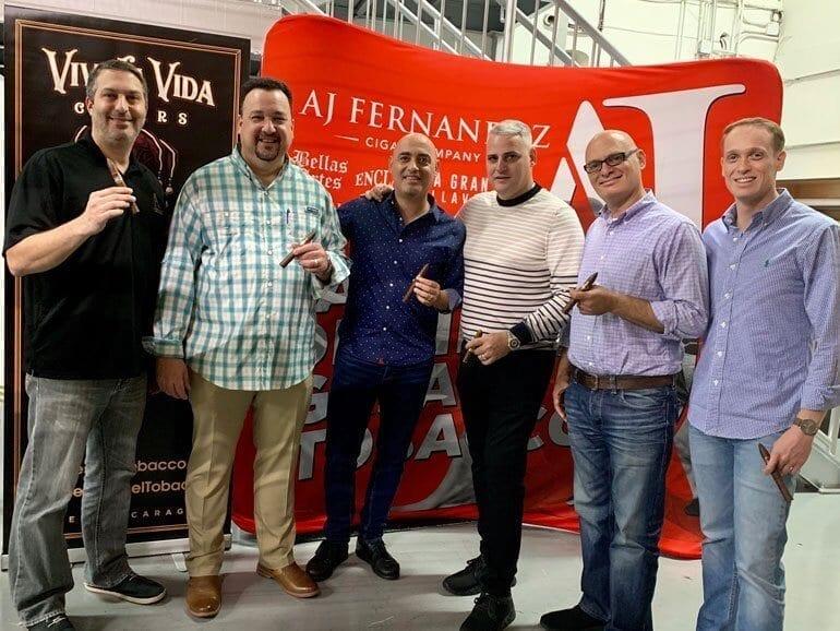 AJ FERNANDEZ TO DISTRIBUTE VIVA LA VIDA CIGARS