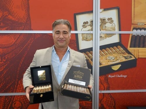 Gurkha Cigars on Intertabak 2019