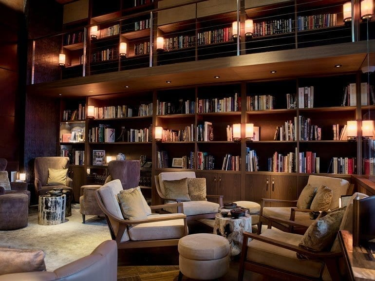 The Chedi Cigar Library