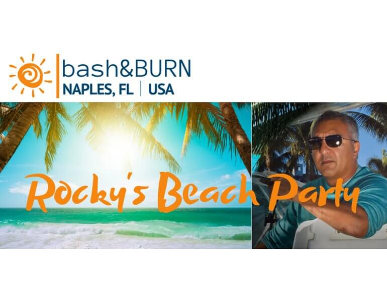 Rocky Patel Beach Party