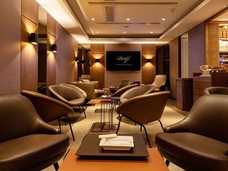 Davidoff Penisula Lounge
