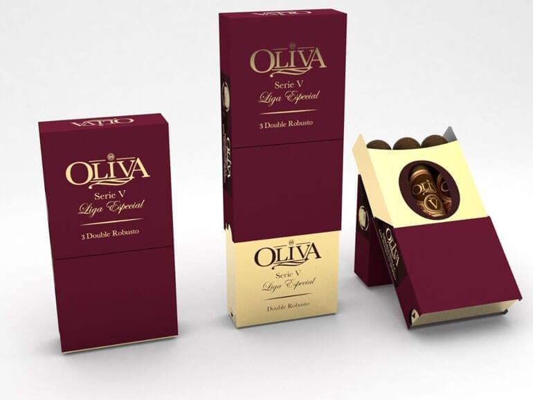 3-Pack Oliva Serie V in duty free