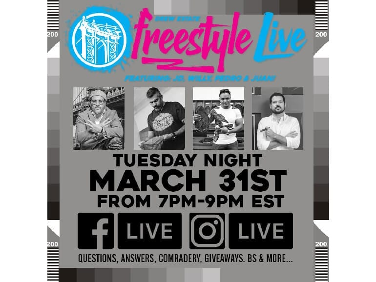 Drew Estate Freestyle Live Virtual Herf
