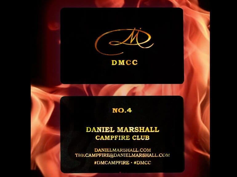 Daniel Marshall Launches Campfire Club to Thank Customers