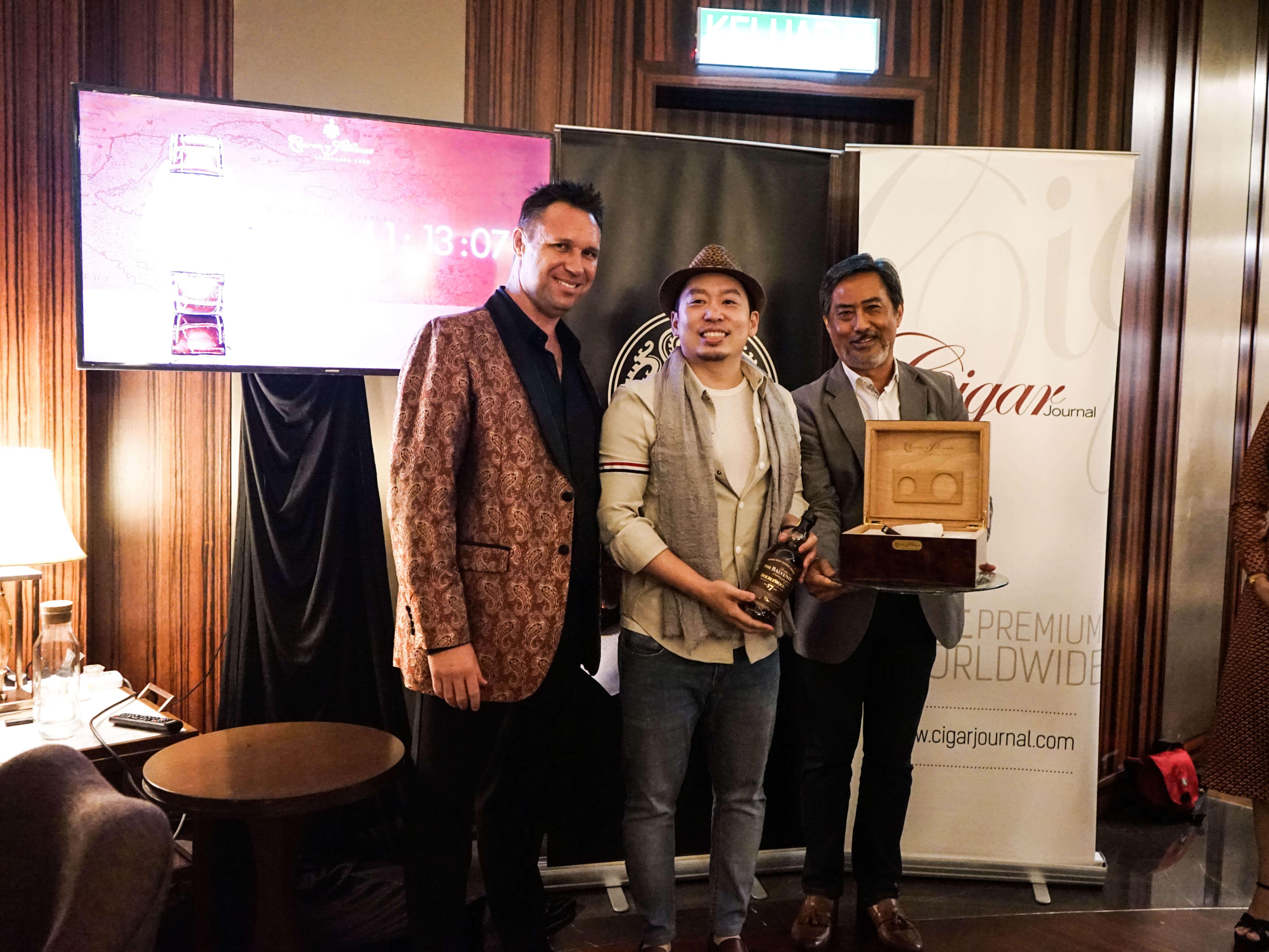The Cigar Smoking World Championship- Kuala Lumpur Winners