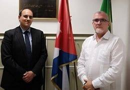 Treffen Nicola Di Nunzio und José Carlos Rodríguez Ruiz